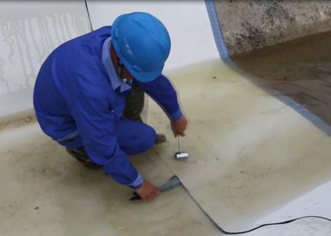 forfens pre-applied waterproofing membrane